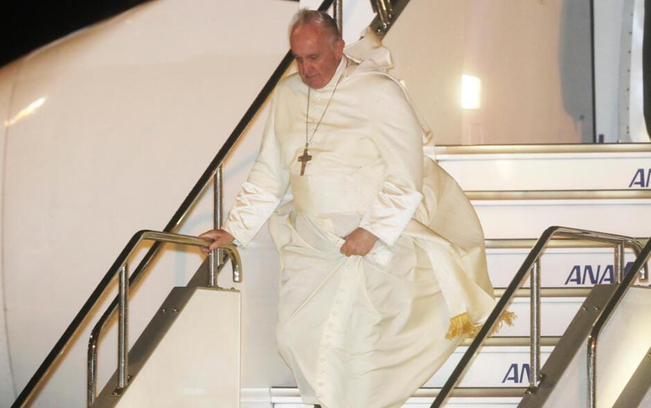 Papa Francesco in Giappone